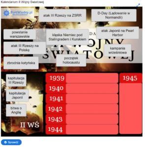 kalendarium | PortWiedzy.pl