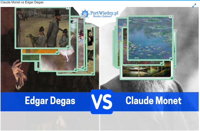 Claude Monet vs Edgar Degas - Claude-Monet-vs-Edgar-Degas