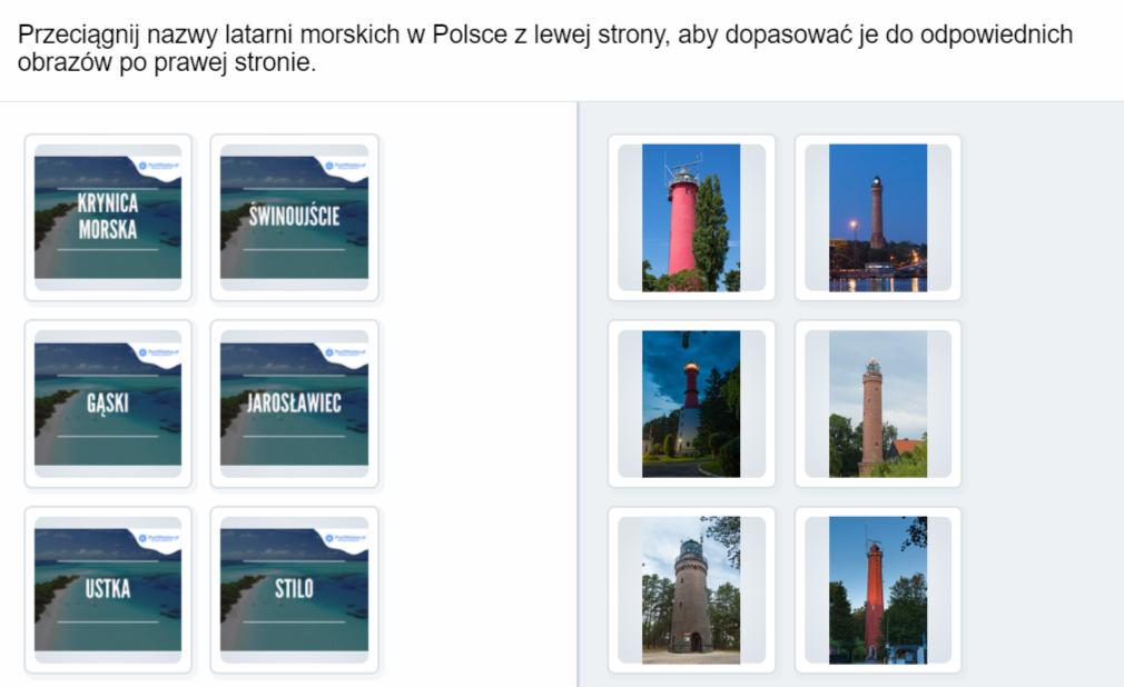 Latarnie morskie w Polsce Dopasowanie - Latarnie-morskie-w-Polsce-Dopasowanie