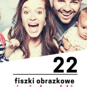niemiecka rodzina fiszki 300x300 - 22 fiszki obrazkowe niemiecko-polskie: Rodzina