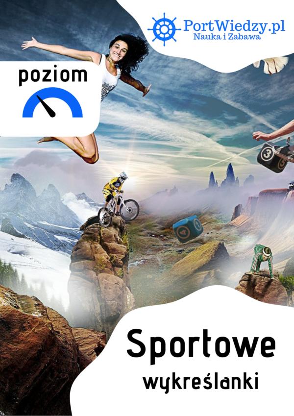 sportowe wykreslanki okladka | PortWiedzy.pl